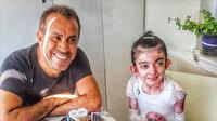 Haluk Levent'ten kelebek çocuk Elfida'ya sürpriz doğum günü