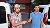 Suriyeli genç yolda bulduğu cüzdanı sahibine teslim etti