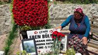 Eren Bülbül 2'nci yılında mezarı başında anıldı