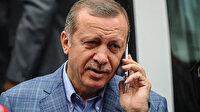 Cumhurbaşkanı Erdoğan liderle telefonda görüştü