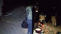 Van Haberleri: Kaçak mülteci taşıyan minibüs kaza yaptı; 17 yaralı