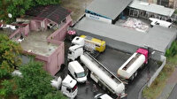 17 bin 400 litrelik kaçak akaryakıt operasyonu böyle görüntülendi