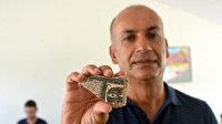 Domuztepe'de 8 bin yıllık leopar maskesi figürü bulundu