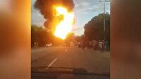 Venezuela'daki tesiste patlama