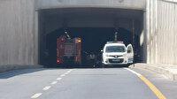 Avrasya Tüneli'ni trafiğe kapatan kaza
