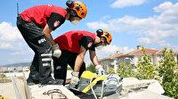İHH arama kurtarma ekiplerinden Bursa'da dev tatbikat
