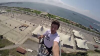 'Emine Bulut' için baz istasyonuna tırmandı