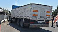 'Kasada koyun var' dediği kamyondan kaçak göçmen çıktı