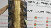 İstanbul Havalimanı'nda ele geçirildi: Değeri 320 bin lira
