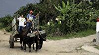 Küba Devlet Başkanı'ndan çağrı: Mazot bitti hayvan kullanın