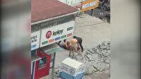 7 kişinin yaralandığı kavganın yeni görüntüleri ortaya çıktı