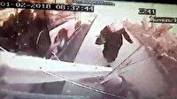 Şoförün suçlu bulunduğu kaza otobüs kamerasına böyle yansıdı