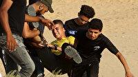 İşgalci İsrail yine sivilleri hedef aldı: 74 yaralı