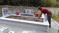 Dedesinin İstiklal Savaşı gazisi olduğu anlaşıldı: Mezar yapıldı