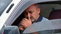 Aracında sigara içen sürücü ceza yiyeceğini öğrenince ikinci sigarayı yaktı