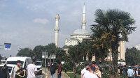 İstanbul Avcılar'da caminin minaresi yıkıldı
