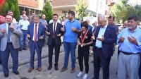 Dünya şampiyonu Merve Azak dualarla karşılandı