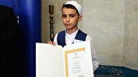 13 yaşındaki Amasyalı Hafız Esad dünya şampiyonu oldu