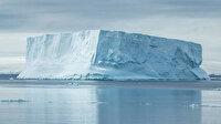 Antartika'da dev buzul kütlesi ana karadan koptu