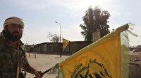 Tel Halef teröristlerden kurtarıldı paçavralar indirildi siviller zırhlı araçlarla tahliye edildi