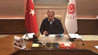 Bakan Akar gazi gazetecileri arayarak geçmiş olsun dileklerini iletti