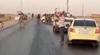 PYD'li teröristler M4 kara yolunda Suriye Milli Ordusu'na yakalandı