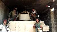 Suriye Milli Ordusu, YPG'nin bıraktığı silahları tek tek ele geçiriyor