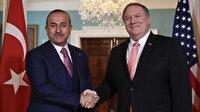 Dışişleri Bakanı Mevlüt Çavuşoğlu, ABD Dışişleri Bakanı Mike Pompeo ile görüştü