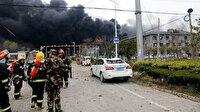 Devasa beyaz bir bulut oluştu: Çin'de bir kimya tesisinde patlama 4 ölü