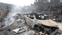 Lübnan'da 103 noktada yangın: 1 ölü, 180 yaralı, ormanlar küle döndü