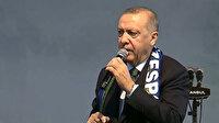 Cumhurbaşkanın Erdoğan: 765 teröristi etkisiz hale getirerek 111 yerleşim birimini kontrol altına aldık