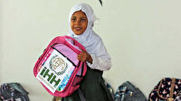 Yemenli öğrencilere kırtasiye desteği