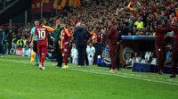 Galatasaray'da Belhanda gerginliği: Ailesi stadyumu terk etmeye çalıştı