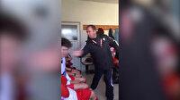 Genç futbolcuları tokatlayarak küfürler yağdırdı!