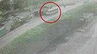 Servis minibüsü kaldırımda yürüyen öğrencilere çarptı: 1 ölü, 2 yaralı
