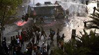 Şili'deki gösteriler uluslararası iki zirveyi iptal ettirdi