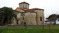 Trabzon'da bulunan Ayasofya Camii restorasyon için ziyarete kapatılacak