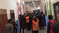 Kasımpaşa - Yeni Malatyaspor maçı sonrası soyunma odasında arbede
