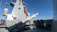 İlk milli deniz seyir füzesi ATMACA, TCG Kınalıada gemisinden başarıyla fırlatıldı
