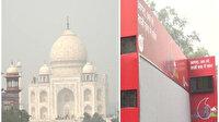 Hava kirliliği had safhada: Tac Mahal'in kapısına hava filtreleri kuruldu