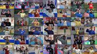81 ilden sporcular Mehmetçiğe selam gönderdi