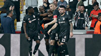 Beşiktaş 5 maçta zirveye ortak oldu