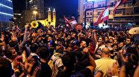 """Lübnan'daki gösterilere """"Diriliş Ertuğrul"""" damga vurdu"""