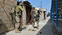 PKK/YPG'nin depo olarak kullandığı okulda 50 adet anti tank mayını bulundu