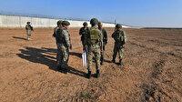 Türk ve Rus askerlerinin 6'ncı ortak kara devriyesi tamamlandı