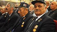 Kütahya'da 170 Kıbrıs gazisine madalya ve beratları takdim edildi
