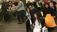 Günlerdir onarılmayan asansör isyan ettirdi: Engelli kadını vatandaşlar taşıdı