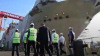 Türkiye'nin en büyük Savunma Sanayii ürünü olacak TCG ANADOLU, 2020'de teslim edilecek