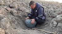 Adana'da evin bahçesine 50 kiloluk göktaşı düştüğü iddiası