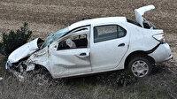 Tekirdağ'da otomobil devrildi: Meydana gelen trafik kazasında 3 kişi yaralandı